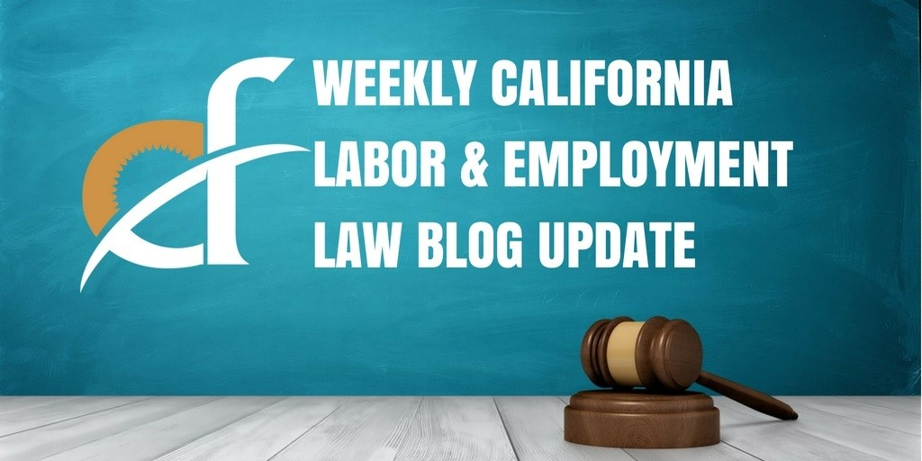 Weekly Update:  Handbook Rules, Rounding of Time Entries, Public Sector Union Fees, and National Origin Regulations